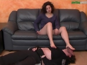 UI023-The Mistress and the thief - Foot Fetish Domination