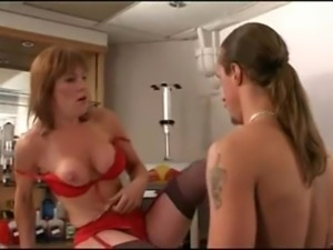 British Milf gets it in her arse