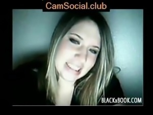 Hot Blonde Masturbating on CamSocial.club