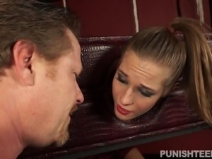 This girl had it coming! She has been very naught girl lately and she just...