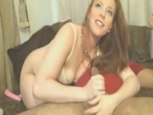 chatroulette white bbw sucks hairy boyfriend's cock