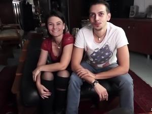 ScambistiMaturi - Italian Couple has hardcore anal sex