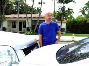 Watch how pervert dad swap his beautiful and innocent daughter, instead of...