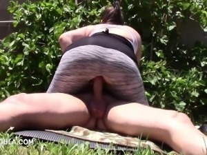 huge cellulite ass brunette milf lets her boss cum twice in her pussy! 1