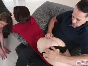 My daughter has become adult. She need some lessons on sex, so I requested my...