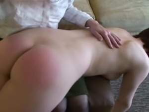 Caught Mastrubate and then Spanked Hard