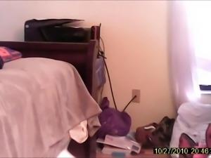 hidden cam wife changing