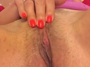 The Orgasm - Wife's pussy teasing video surprise for me