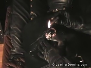 Total Leather at LeatherDomina.com • Extreme Leather Mistress • Extreme...