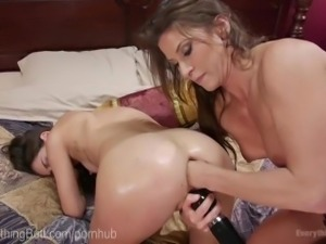 Lesbian Anal Star's First Audition