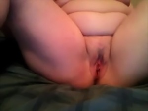 Chubby ugly as fuck mature webcam bitch enjoys masturbation