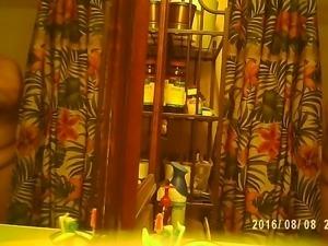 bbw wife on hidden cam