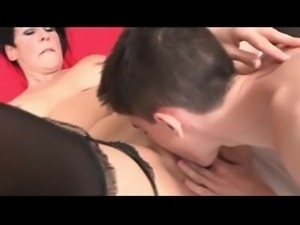 Spanish mature and boy with big cock 2