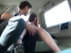 I picked her up at the hotel and this erotic teen took a trip with me through...