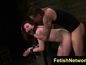 FetishNetwork Emma rides sybian machine