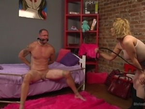 Cherry is well known dominating bitch. Her sex slaves are usually cry from...