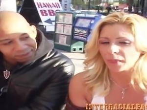 Amateur Texas Redneck Phyllisha Milf gets Blacked!