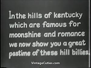 Hillbilly Hunk Fucks His New Girlfriend (1930s Vintage)