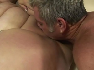 Old & Young - chubby Angelina fucking by old man