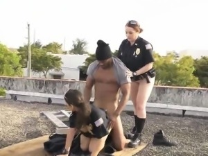 Police strip search and fuck Break-In Attempt Suspect has to