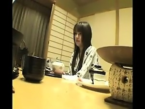 Dazzling Japanese wife with lovely titties is yearning for