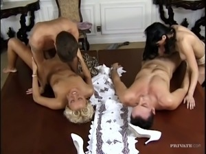 Bosses are swinging with each other's secretaries