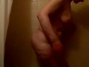 Friends mom in the shower interupted by HUGE cock