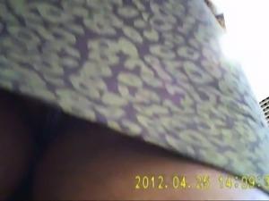 Upskirt panties taken by a hidden cam in japan