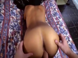 Hotel room pounding for horny Arab girlfriend