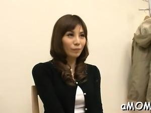 Japanese mother i'd like to fuck filmed during sex