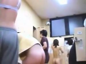 In the shower hidden cam