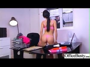 (Patty Michova) Big Tits Horny Office Girl Get Nailed Hardcore vid-21