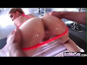 Anal Hardcore Bang With Slut Big Butt Oiled Girl (Bibi Noel) movie-08