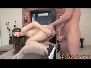 Teens gaping ass fucked