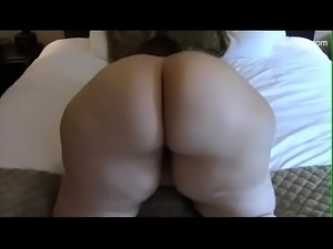 White SSBBW Thunder Thighs Doggystyle Position