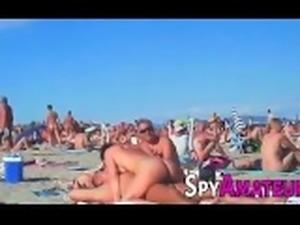 Voyeur swinger beach group sex