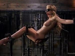 If you like seeing hot helpless women enjoying hard metal bondage, then this...