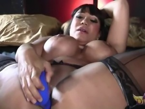 Curvy sex bomb Ava Devine has a blast with her warm pussy