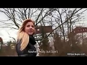 Cutie amateur european slut seduces tourist dor a street blowjob 09