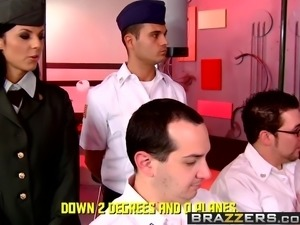 Brazzers - Big Tits In Uniform - The Cunt for Red October sc