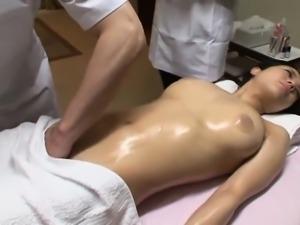 Chinese innocent having some doggystyle