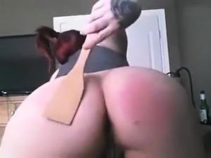 Home amateur ass spanking