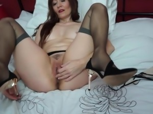 If you like experienced women, then this horny brunette, Kitty Cream, is just...
