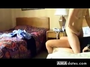 Amateur fuck in the hotel