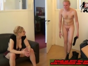 Deutsches Userdate mit Dominanter Hausfrau - Femdom BDSM MOM
