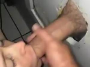 Licking pussy gloryhole