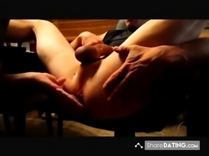 Amazing prostate massage (with cum)
