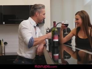 Karups - MILF Tina Kay Fucks Naked Chef
