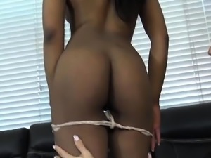 Ebony Couple Wife Swap with Ariella