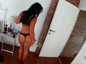 Beautiful hot milf gets fucked by a BBC